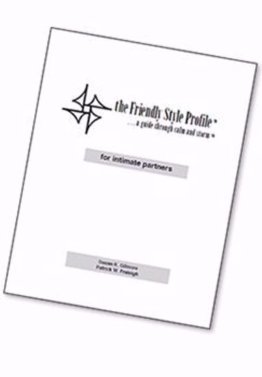 Picture of The Friendly Style Profile™ for intimate partners, 2012 (PDF download)