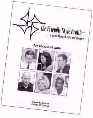 Picture of The Friendly Style Profile™ for people at work, 2004 (PDF download)