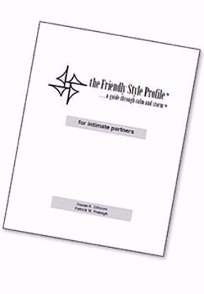 Picture of The Friendly Style Profile™ for intimate partners, 2012 (Printed booklet)